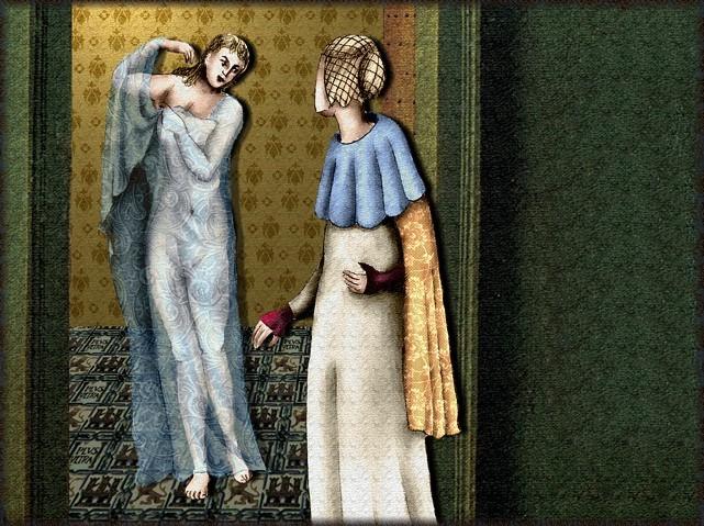 La chantefable Aucassin et Nicolette (XII ème et XIII ème siècle) (Illustré) Scene37b