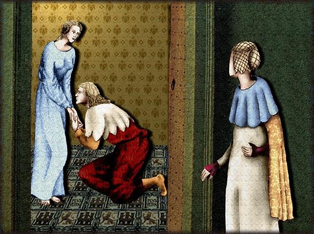 La chantefable Aucassin et Nicolette (XII ème et XIII ème siècle) (Illustré) Scene38