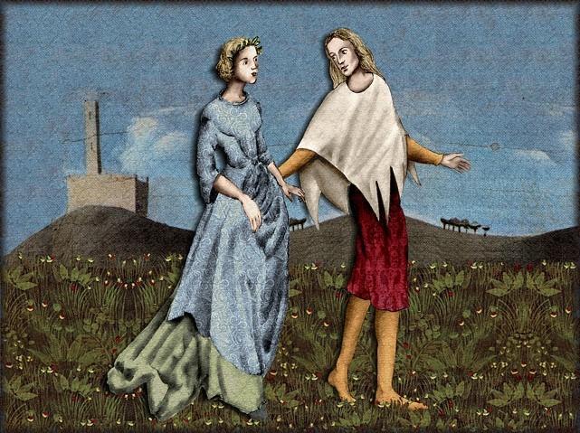 La chantefable Aucassin et Nicolette (XII ème et XIII ème siècle) (Illustré) Scene39a