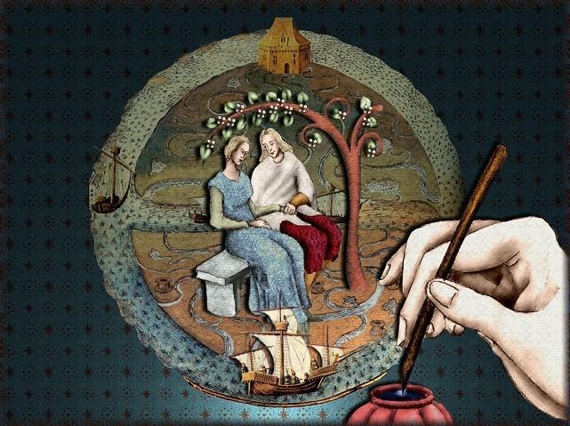 La chantefable Aucassin et Nicolette (XII ème et XIII ème siècle) (Illustré) Scene39b