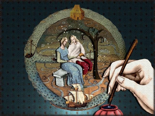 La chantefable Aucassin et Nicolette (XII ème et XIII ème siècle) (Illustré) Scene39e